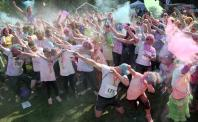 Coalville colour run