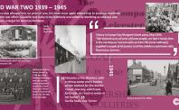 Coalville Timeline panel 9 1939-1949