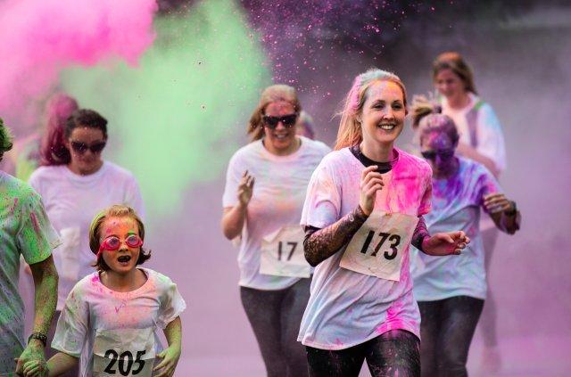 2017 colour run