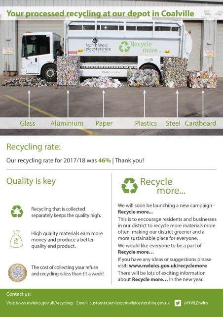 2019 Waste collection calendar