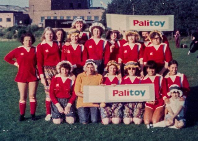 5 Palitoy Ladies Football Team