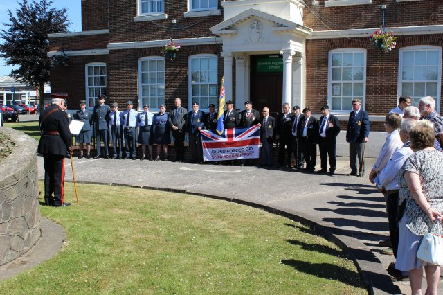 Armed Forces Flag Raising 2018