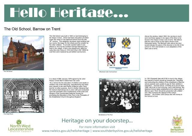 Barrow on Trent Board 2