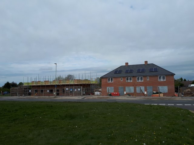 Building Is to Restart at the Site on Cropston Drive