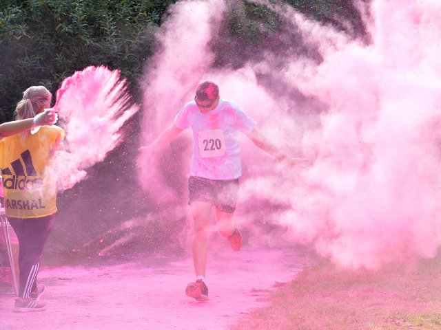 Coalville Colour Run
