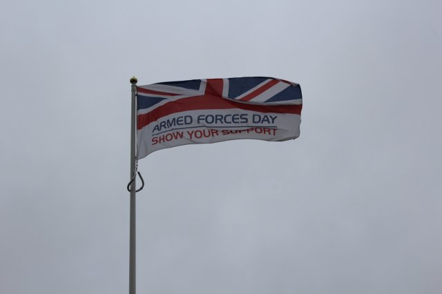 Flag armed forces