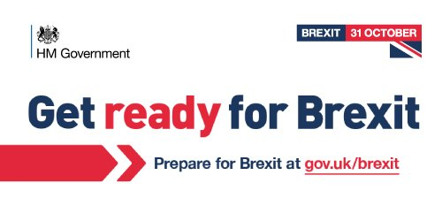 Get ready for Brexit 31 October