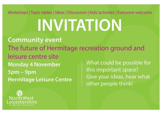 Hermitage recreation - community invitation