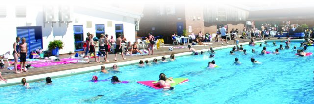 Hood park leisure centre north west leicestershire - Outdoor swimming pools north west ...