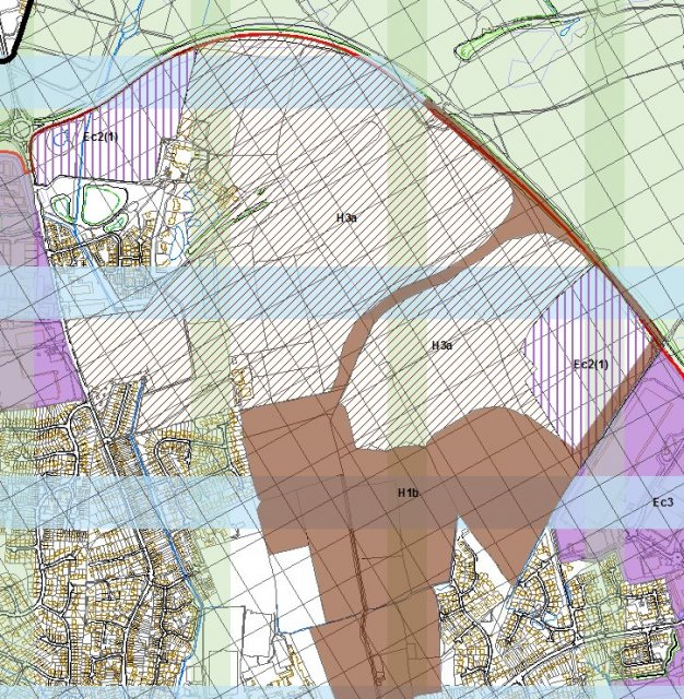 Local Plan Proposals Map - Moneyhill Extract
