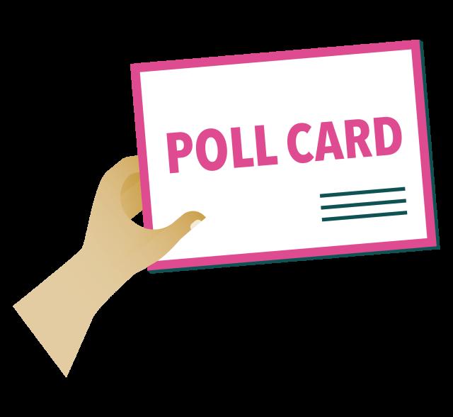 Poll card - Voter ID pilot