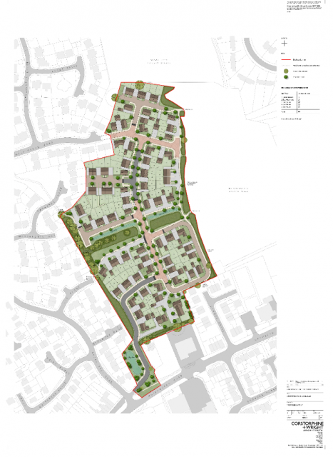 Proposed Layout of the Scheme