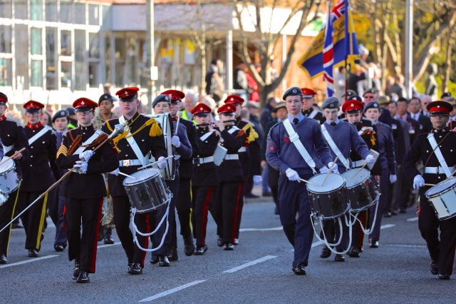 Remembrance parade 2017