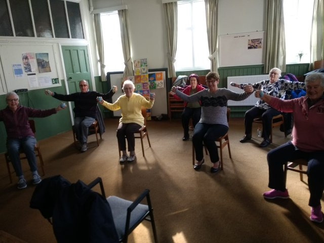 Seated Exercise Classes Can Have a Number of Health Benefits Both Physical and Mental
