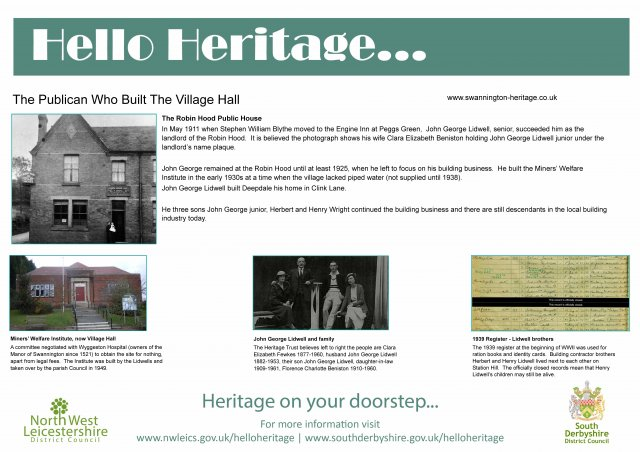 The Publican Who Built The Village Hall
