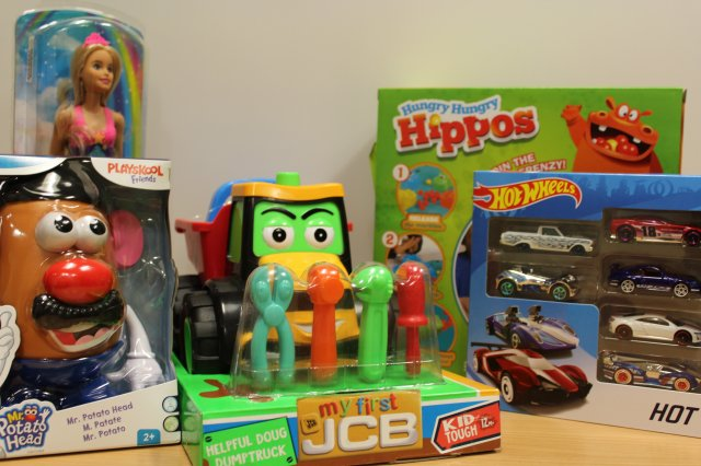 Toys for the toy trail