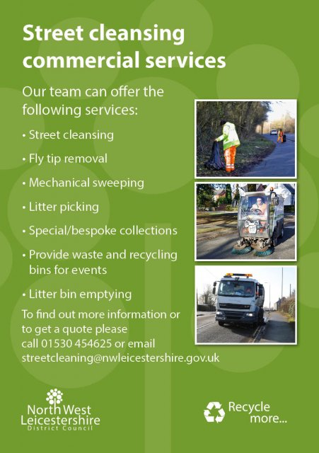 Trade Waste and Recycling Street Cleansing Leaflet2