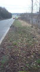 A42 cleansing - slip road after cleaning