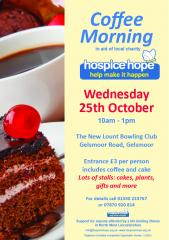Articles 1234 Id Hki25 G VS Ann Bottomley S Coffee Morning 25 Oct 2017 Poster
