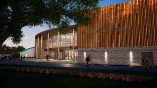Artist's Impression of the New Coalville Leisure Centre