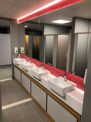 Ashby Leisure Centre Changing Rooms