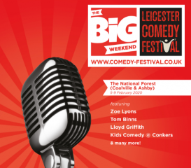Big Weekend of Comedy in the National Forest