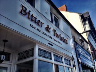Bitter and Twisted micro pub - shop front improvement grant