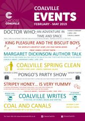 Choose Coalville events - Feb - May 2019