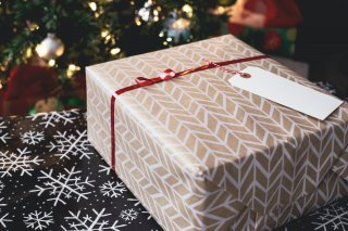 Image of a Christmas present