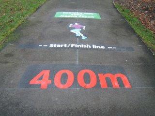 Coalville Park running track