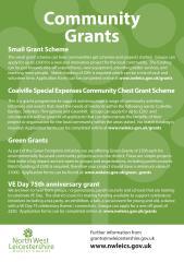 Community VE Grant