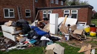 Controlled Waste Being Kept Illegally After Being Collected by the Unlicensed Duo.