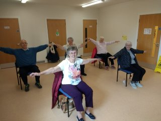 Easymove Chair Aerobics