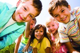 Geocaching children
