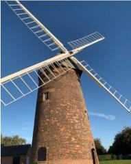 Photograph of Swannington Hough Mill with Sails