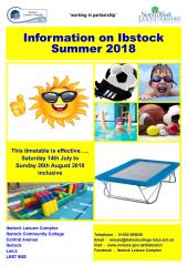 ILC Info on Ibstock Summer 2018