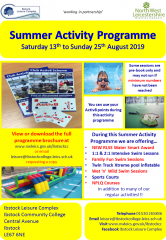 ILC Summer 2019 Leaflet
