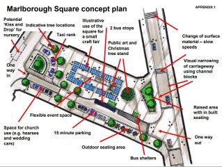 Marlborough Square redesign