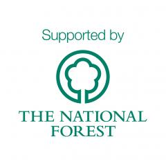 National Forest Company - supported by logo
