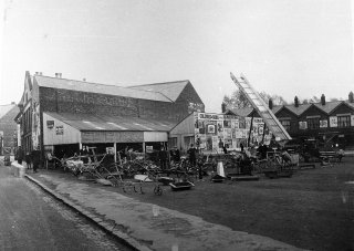 Newmarket as it looks in the 1920s credit Coalville Heritage Society