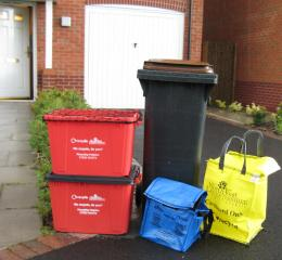 NWLDC recycling containers