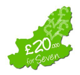 £20,000 for seven logo