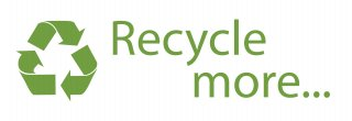 Recycle more landscape logo