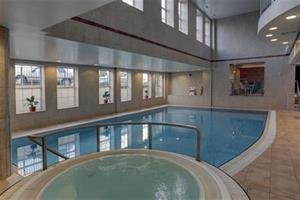 Indoor Pool at Best Western Yew Lodge Hotel