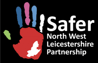 Safer North West Leicestershire Partnership logo