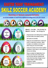 Skilz soccer academy easter 2016