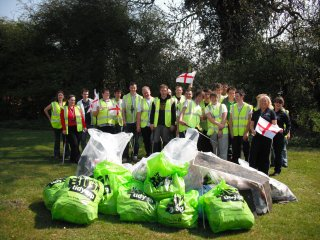 St George's Day Litter Pick 004