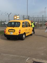 Taxi inspection at EMA