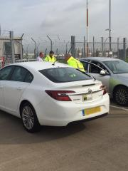 Taxi inspection at ema2