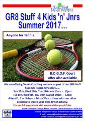 Tennis summer 2017